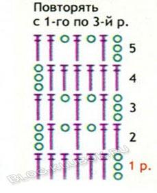 Схема топик для девочки