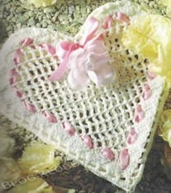 Вязаное сердце крючком-11