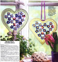 Вязаное сердце крючком-3