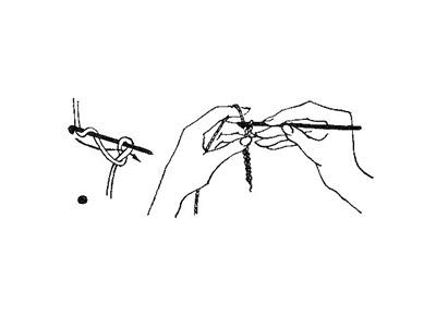 Набор петель крючком