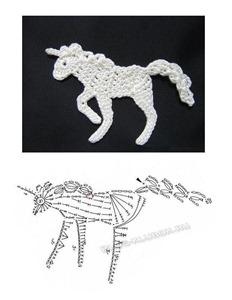 Аппликация лошадка-2