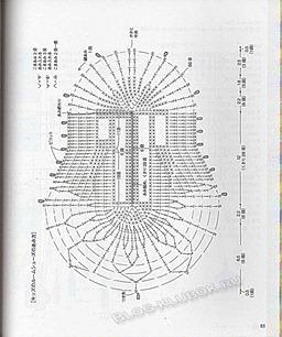 Схема вязания тапочек крючком