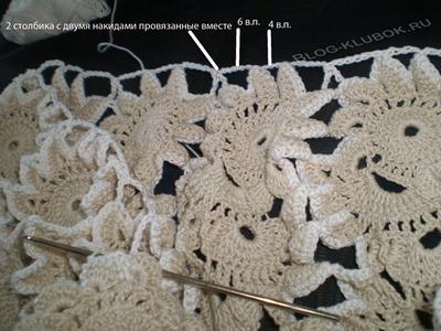 Летняя вязаная юбка крючком-2