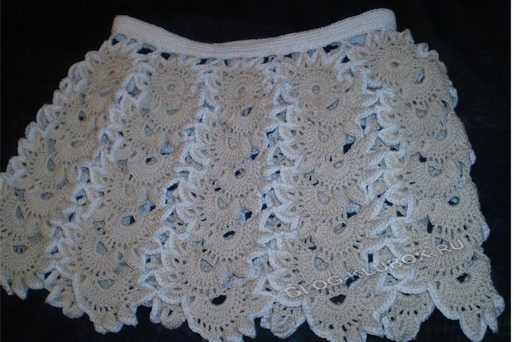 Оригинальная летняя юбка