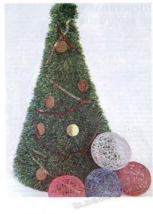 Вязанная елка-4