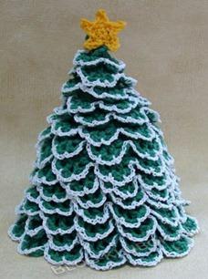 Вязанная елка-6
