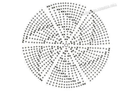 Схема теплой шапочки крючком
