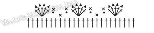 Схема шапочки связанной крючком-1
