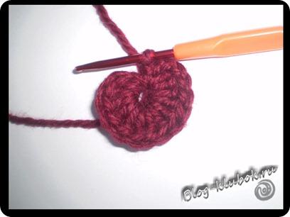Вязаное сердечко крючком-2