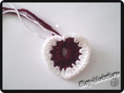 Вязаное сердечко крючком-4