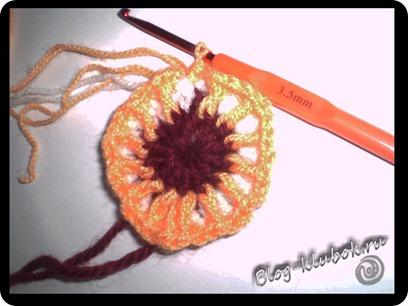 Вязаное сердечко крючком-7