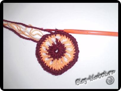 Вязаное сердечко крючком-8