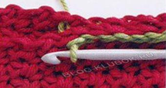 сшить детали вязания крючком