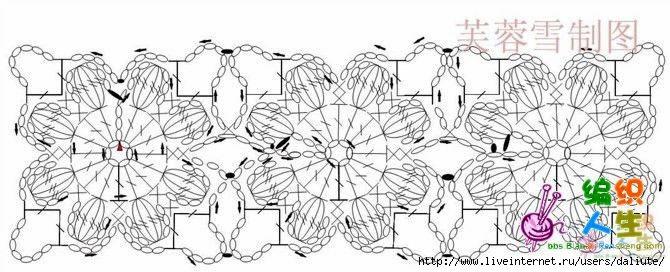 Схема детской кофточки крючком