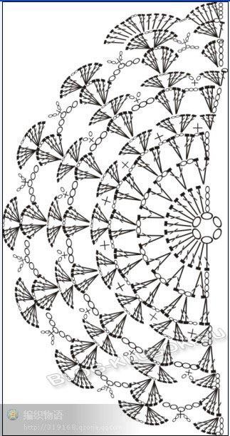Схема вязаного клатча