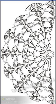 Схема клатч крючком