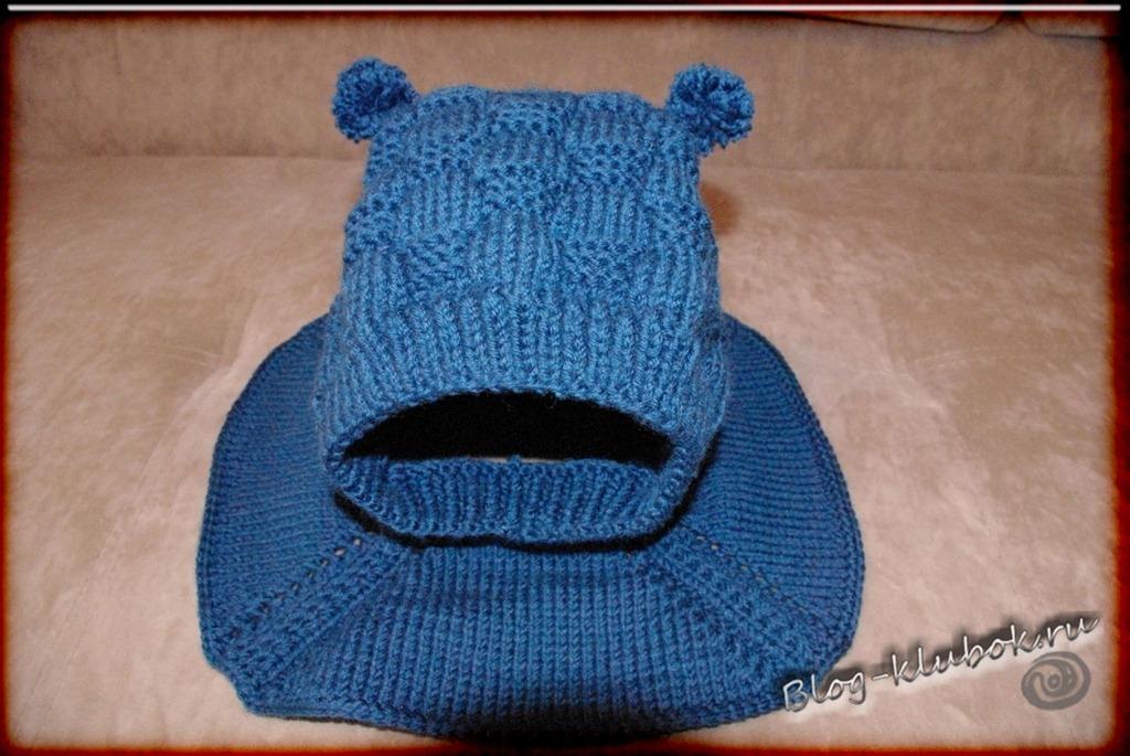 Вязание спицами шапка ребенку до года