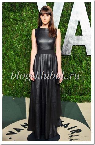 Кожаное платье фото-2