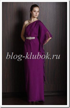 Модные платья в пол