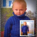 лый свитер для мальчика
