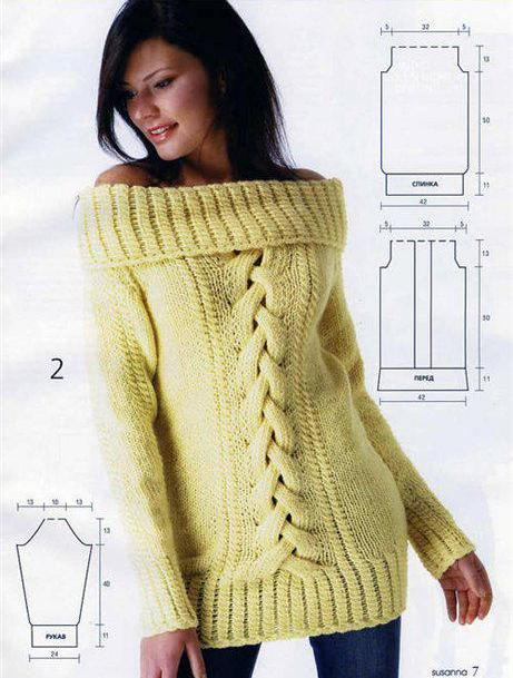 Да, безусловно, вязаный свитер