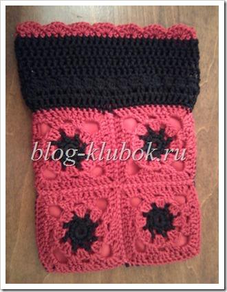 Вязание бабушкин квадрат-2