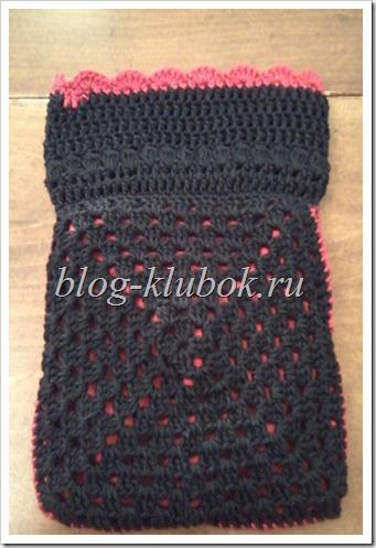 Вязание бабушкин квадрат-4