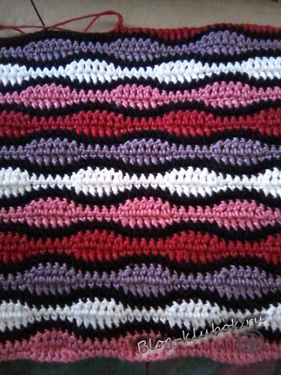 Вязание спицами вырез