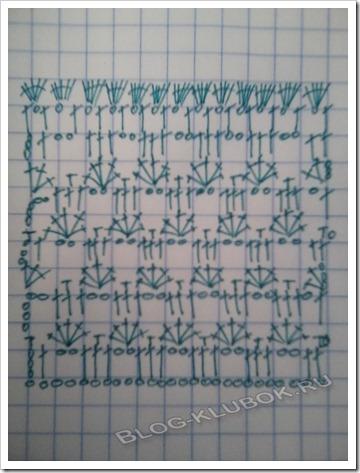 Схема вязания летней кофты