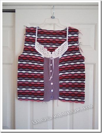 Вязание женская кофточка