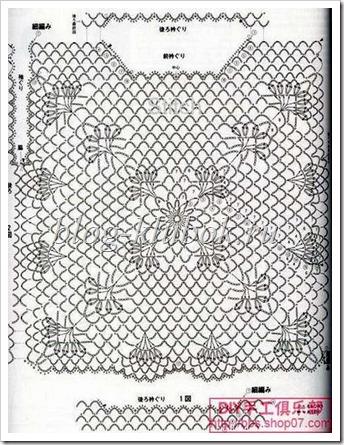 Вязание туники со схемами