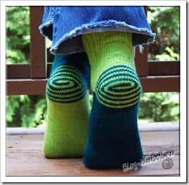 Красиве носочки спицами