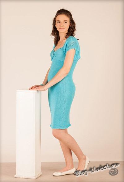 Вязаное платье для женщин-1