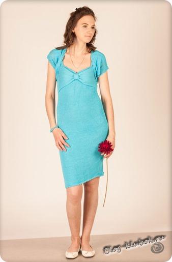 Вязаное платье для женщин