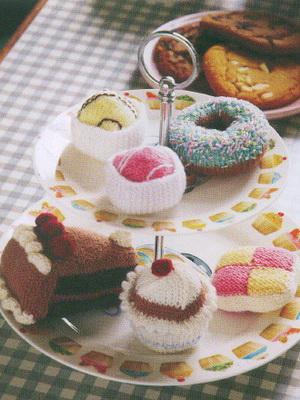 Вязаные сладости в последнее